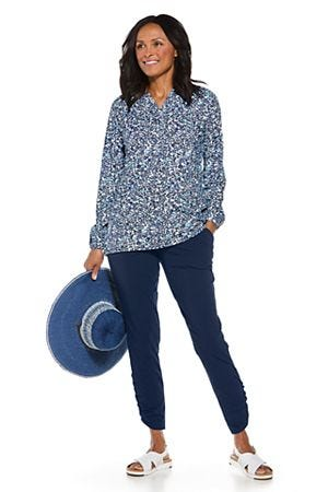 Kelly Sun Hat & Carolina Tunic Top Outfit