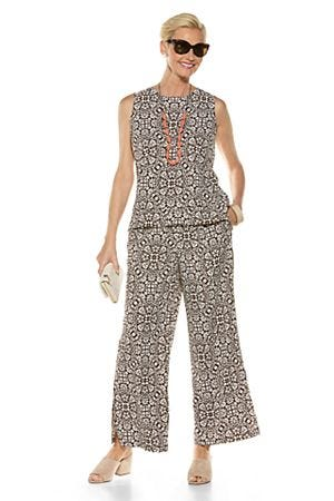 St. Tropez Swing Tank Top & Petra Wide Leg Pant Outfit